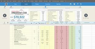 Property Flipping Spreadsheet Repair Cost Calculator House Flipping Spreadsheet