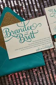teal wedding invitations teal and gold wedding invitations tbrb info