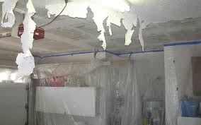 Removing Cottage Cheese Ceiling by Remove Acoustical Popcorn Ceiling Texture Denver U0027s House