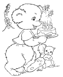 teddy bear printables coloring