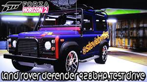 land rover one forza horizon 2 xbox one land rover defender 928bhp test drive