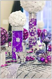 Water Beads Centerpieces Decoration Heavenly Picture Of Purple Wedding Table Decoration