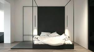 4 Post Bed Frame Metal Four Poster Bed Metal Canopy Bed Size Black Modern 4