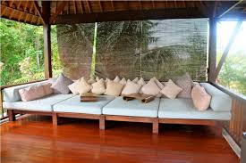 Diy Outdoor Daybed Outdoor Bamboo Shades With Cushion And Daybed Also Gazebo Area
