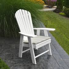 Amish Patio Furniture Upright Adirondack Chair Amish Woodwork