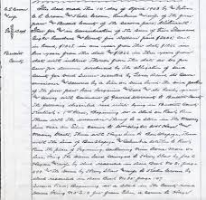 farm writing paper the bullitt county history museum memories below is and image of the original deed to the poor farm
