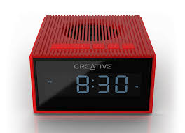 creative chrono splash proof bluetooth speaker and fm radio