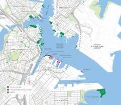 navy pier map inner harbor map sail boston
