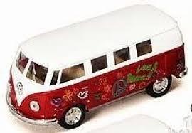 volkswagen barbie kinsmart volkswagen classical hippie bus 1962 1 32 scale