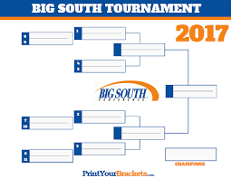 2017 ncaa basketball tournament big south conference tournament bracket 2017 march madness