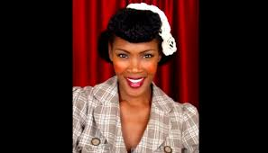 black pin up hairstyles chilli s fave vintage pinup hairstyles for natural hair marie