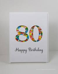 best 25 80th birthday cards ideas on diy 80th