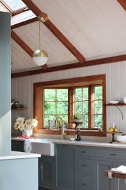 best 25 stained wood trim ideas on pinterest wood trim dark 5 ways bold textures can transform your rooms kitchen cabinet
