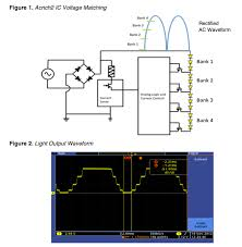 Led Light Flicker Problem Ac Driver Led Circuits Electrolytic Capacitors And Flicker Trade