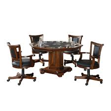 Poker Dining Table by 52 U0027 U0027 Imperial 2 In 1 Gametable Set Incudes 4 Rocker Swivel