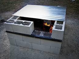 Block Firepit Building Your Own Cinder Block Pit Cantabrian Net