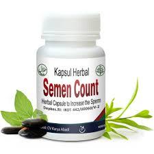 semen count obat herbal penambah sperma