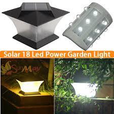 Solar Lights Outdoor Garden Led Solar Light Waterproof Outdoor Solar Fence Light Pathway Porch