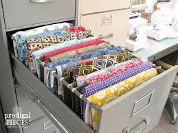 repurpose metal file cabinet repurposed sewing fabric storage prodigal pieces