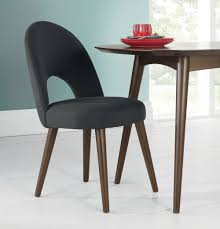 Upholstered Chair by Oslo Walnut Upholstered Chair Pair