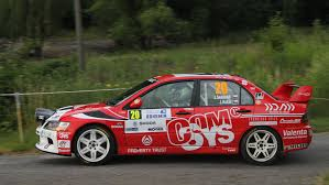mitsubishi evo rally car file 2015 rally bohemia josef semerád mitsubishi lancer evo ix
