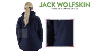 jack wolfskin vernon texapore jacket waterproof insulated 3 in
