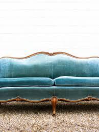 charming vintage blue velvet sofa m61 for decorating home ideas