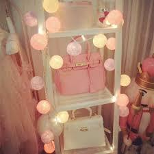 online shop 20pcs lot cotton ball light pink purple lady girls