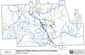 County Map Ga Comprehensive Plan Pickens County Georgia