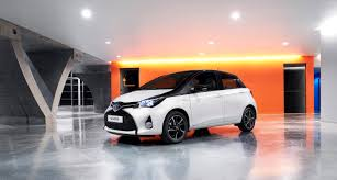 toyota lineup toyota gears 2016 yaris with new design pack