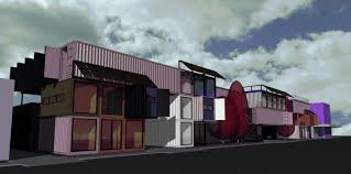 shipping container building brisbane future city architects
