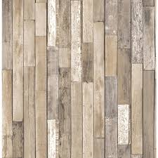 brewster barn board brown thin plank wallpaper fd23274 the home
