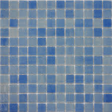 Blue Glass Kitchen Backsplash 1sf Light Blue Glass Mosaic Tile Kitchen Backsplash Swimming Pool
