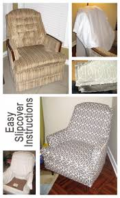 How To Make Slipcovers For Couches Easy Slipcover Instructions