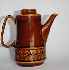 vintage brown teapot in ceramic kettle coffee pot teapot with vintage brown teapot in ceramic kettle coffee pot teapot with lid water kettle 80s soviet pot rustic home decor ussr polish pottery