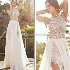 high neck halter wedding dress julie vino 2014 wedding dresses halter high neck lace appliques