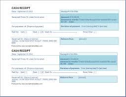 business cash receipt template free receipt templates