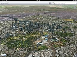 Birds Eye View Maps Apple Ios 6 Maps Images Of Melbourne Emerge Macworld Australia