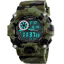 amazon com timsty digital sports boys watch waterproof military