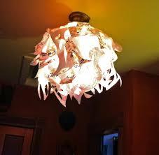 Paper Light Fixtures Funky Light Fixtures 10051