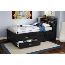 innovative bookcase headboard full full size bed frame with
