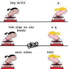 Glee Memes - glee memes uploaded by aléxia diniz on we heart it