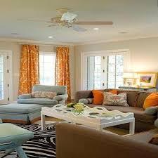 Pink And Orange Curtains Orange Living Room Curtains Bright Orange Curtains With Pink