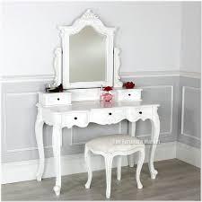 Modern White Vanity Table White Dressing Table Mirror And Stool Design Ideas Interior