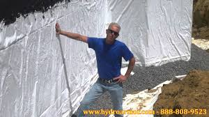 exterior foundation waterproofing and repair youtube