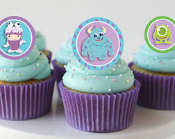 monsters inc baby shower cake monsters inc cupcake etsy