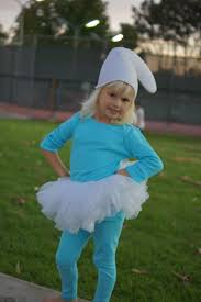 princess lolly halloween costume smurfette creatively costumed pinterest smurfette costumes