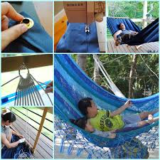 wonderful diy step by step hammock