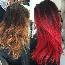 umbra hair 25 red ombre hair color ideas for a bold new look glowloud