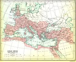 Roman Map Maps Roman Empire Map 3rd Century The Roman Empire Decline Of
